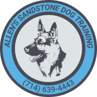 Allen's Sandstone Dog Training Logo